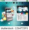 Smart phone - stock photo