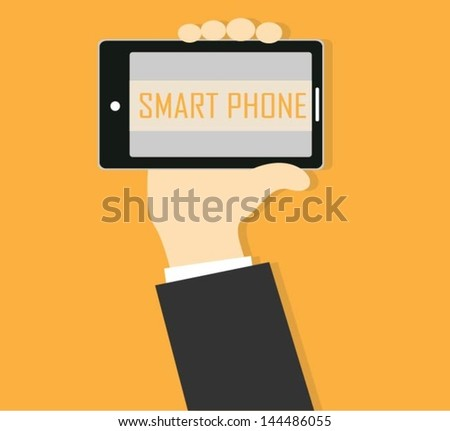 Smart Phone - stock vector
