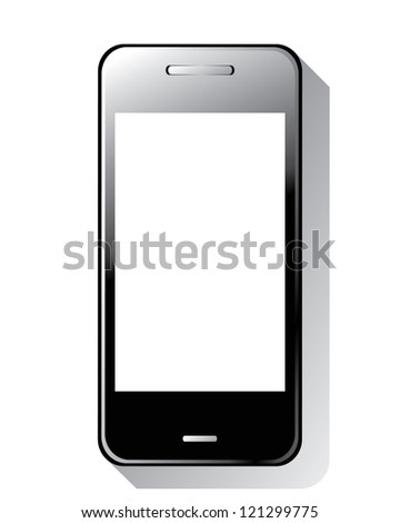 Smart phone vector - stock vector