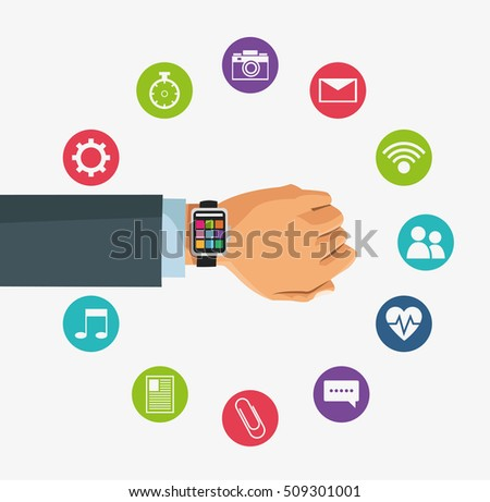 Smart watch and wearable technology design