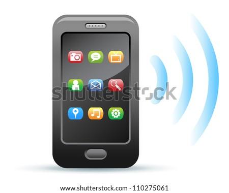 Smartphone - stock vector
