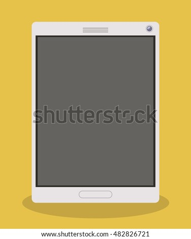 Smartphone icon. Technology gadget device and communication theme. Colorful design. Vector illustration