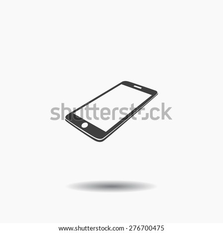 smartphone icon, Vector  Eps 10 - stock vector
