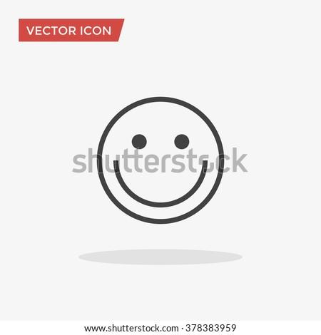 Smile Icon, Smile Icon Vector, Smile Icon Object, Smile Icon Image, Smile Icon Picture, Smile Icon Graphic, Smile Icon Art, Smile Icon Drawing, Smile Icon JPG, Smile Icon JPEG, Smile Icon EPS. - stock vector