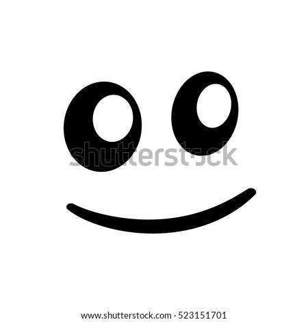 smile vector icon abstract vector symbol stock vector
