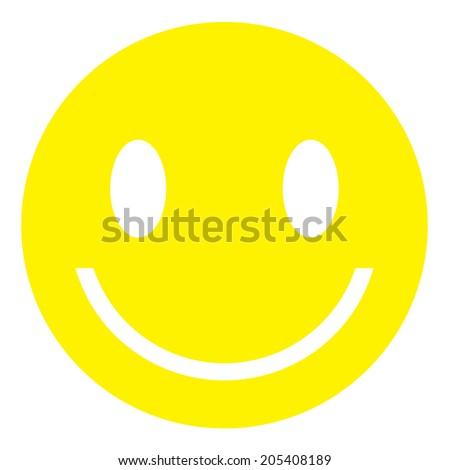 Smiley Face- Vector - stock vector