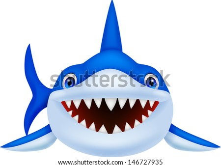 Smiling Shark Stock Images Royalty Free Vectors