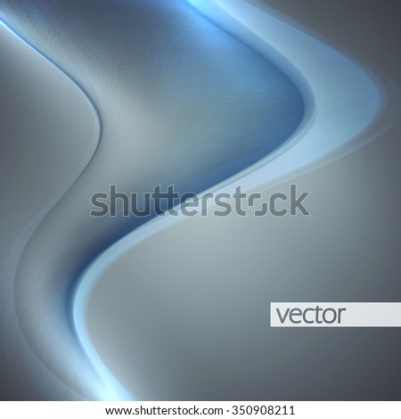Smoke background. Abstract composition Illustration. Vector eps10 - stock vector