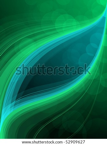 Smooth background with space for your message - stock vector