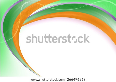 Smooth & Colorful twist light lines vector background. - stock vector
