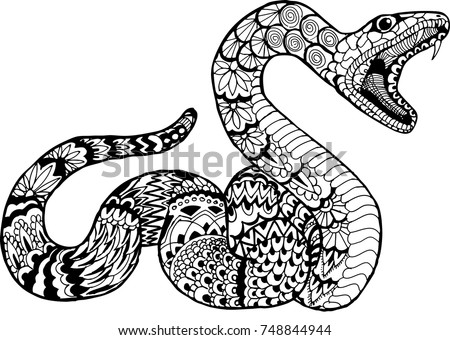 Arizona Coloring Page likewise Cobra Snake Head 30103674 together with Vipere A Cornes as well Snake as well Stock Illustration Snake. on rattlesnake coloring pages