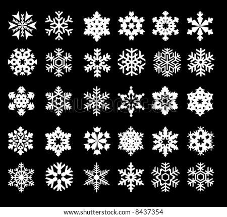 snow - stock vector