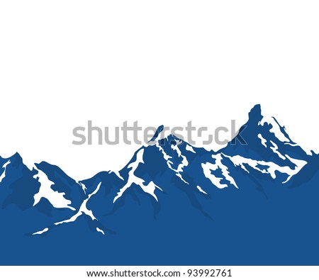 Snow capped mountains Stock Photos, Images, & Pictures ...