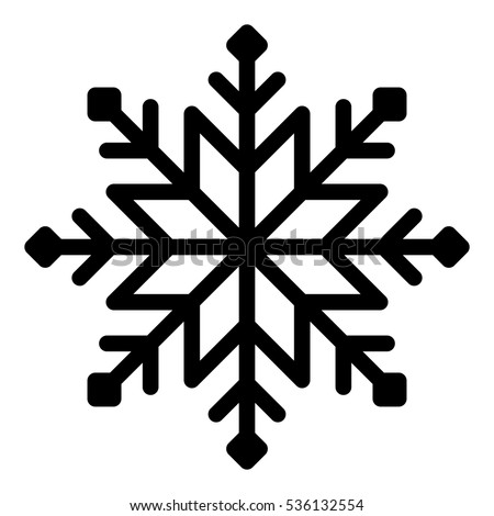 snowflake vector illustration on white background stock vector 2018 rh shutterstock com snowflake background vector snowflake vector free