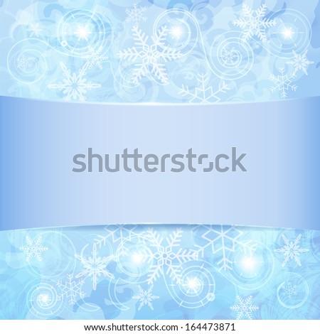 snowflakes texture - stock vector