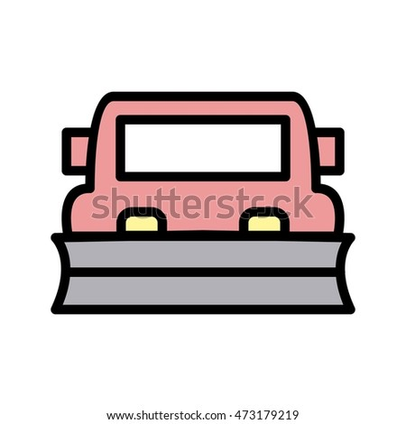Snowplow Stock Vectors, Images & Vector Art | Shutterstock
