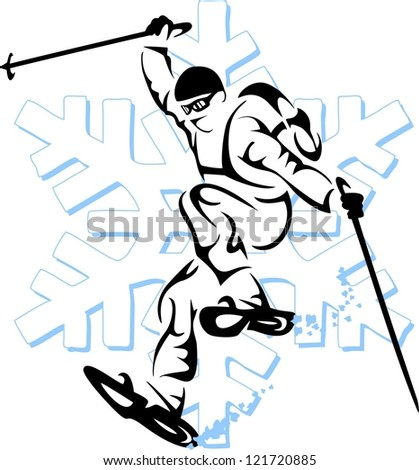 Snowshoeing Clipart - More information