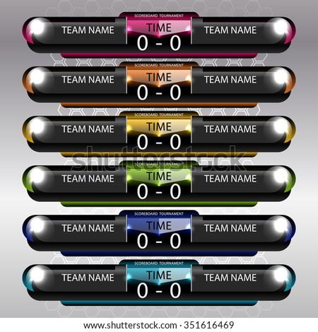 Soccer Scoreboard Imágenes Pagas Y Sin Cargo, Y Vectores En Stock