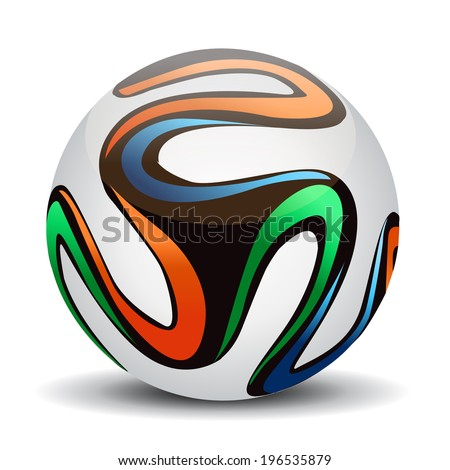 Soccer ball. - stock vector