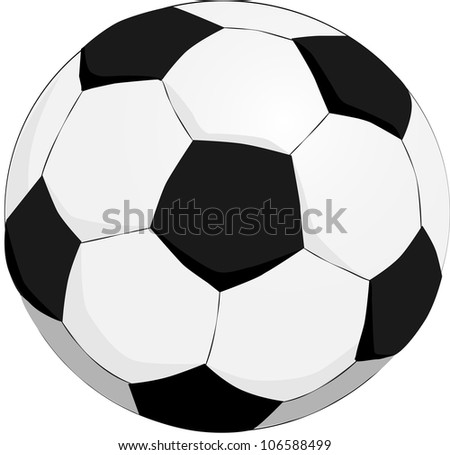 Soccer Ball Classic - stock vector
