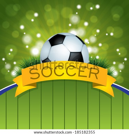 Soccer Ball Design - stock vector