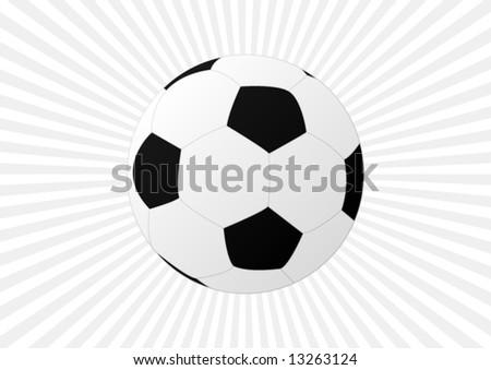 Soccer Ball (Football) - stock vector