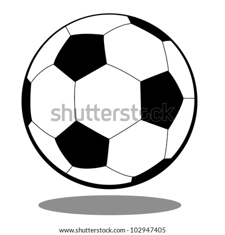 soccer ball for football, sports and others - stock vector