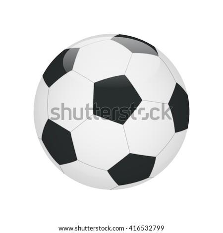 Soccer ball. Soccer ball icon. Soccer ball Flat. Soccer ball 3d. Soccer ball vector. Soccer ball illustration. Soccer ball isolated. soccer ball. - stock vector