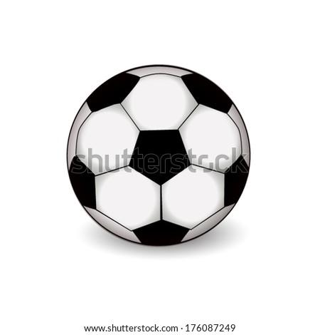 soccer-ball. Vector - stock vector