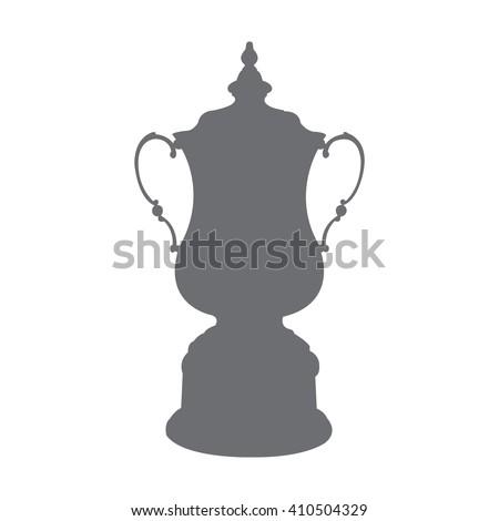 Soccer Cup Trophy Vector - stock vector