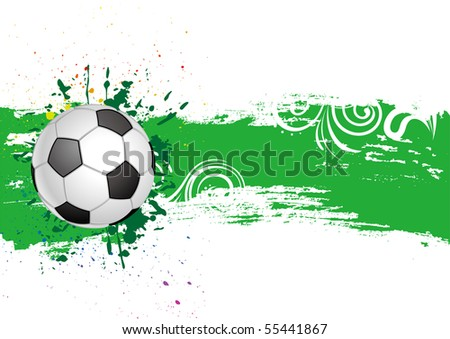 soccer design element - stock vector