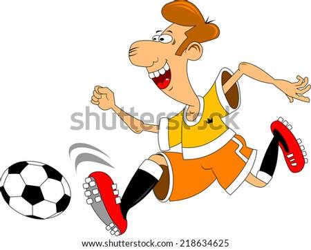soccer design element, white background (vector-illustration) - stock vector