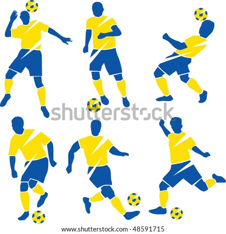 soccer football - stock vector