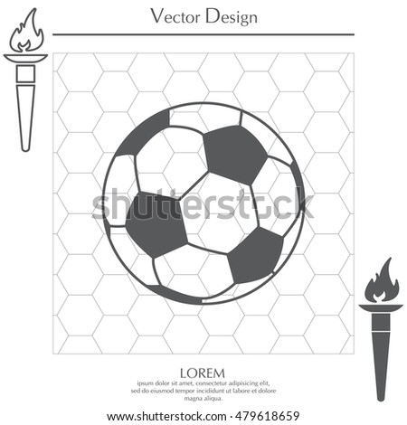 Soccer (football) ball icon