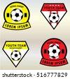 soccer football club logo badge