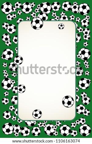 Beautiful Soccer Frames Vignette - Frames Ideas - ellisras.info