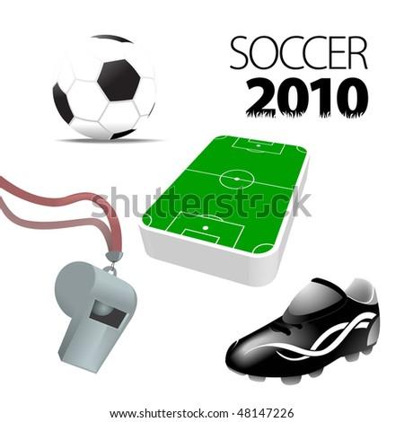 Soccer Football Vector collection - stock vector