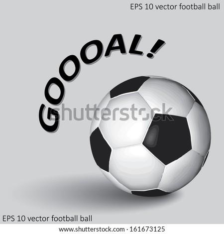 soccer or football ball eps10 - stock vector
