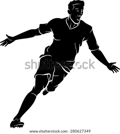 http://thumb7.shutterstock.com/display_pic_with_logo/137245/280627349/stock-vector-soccer-player-winning-run-silhouette-280627349.jpg