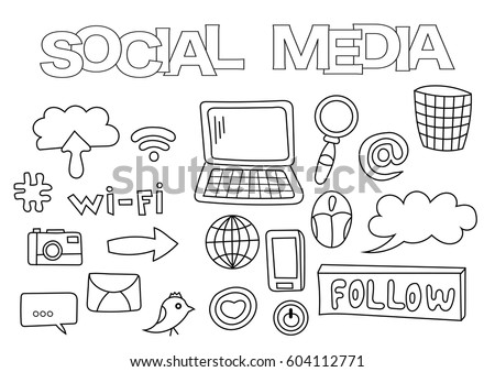 Doodle Icons Stock Images, Royalty-Free Images & Vectors ...