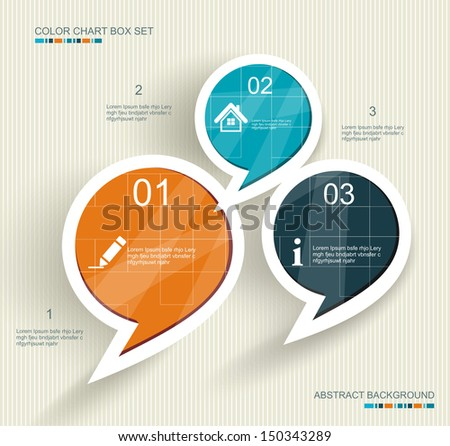 Social media icons . Talk bubble shape composition. - stock vector