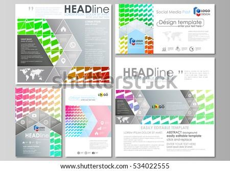 real estate brochure flyer design vector stock vector 210432454 shutterstock. Black Bedroom Furniture Sets. Home Design Ideas
