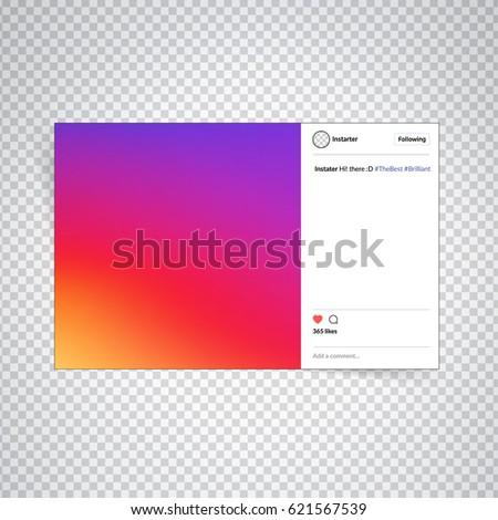 instagram frame stock images royalty free images vectors shutterstock. Black Bedroom Furniture Sets. Home Design Ideas