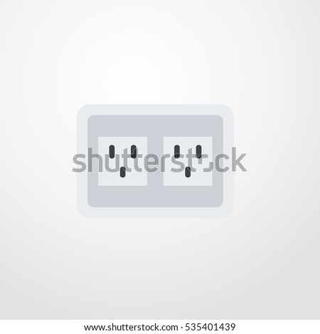 socket icon illustration isolated vector sign symbol