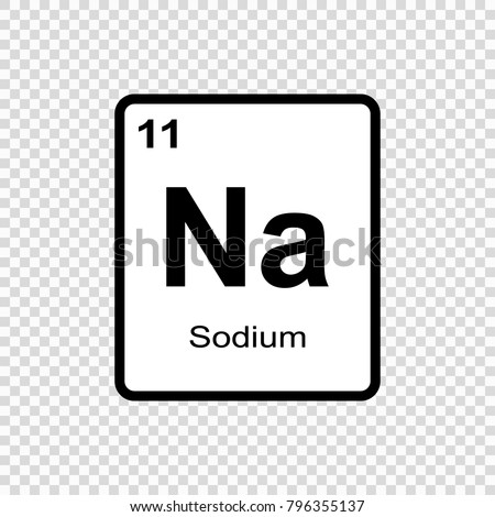 Sodium chemical element sign atomic number stock photo photo sodium chemical element sign with atomic number chemical element of periodic table urtaz Image collections