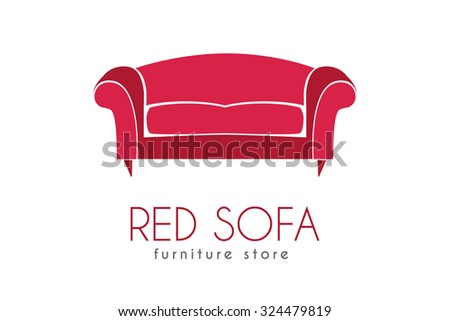 Sofa Business Sign Vector Template For Furniture Store Home Decor Boutique Furniture Design