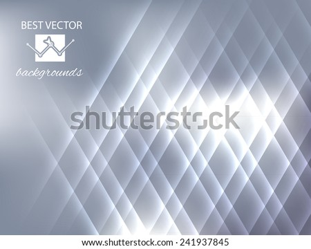 Soft colored abstract background  with bokeh vector - stock vector