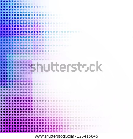 Soft Colorful Abstract Background - stock vector