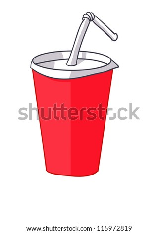 soft-drink - stock vector