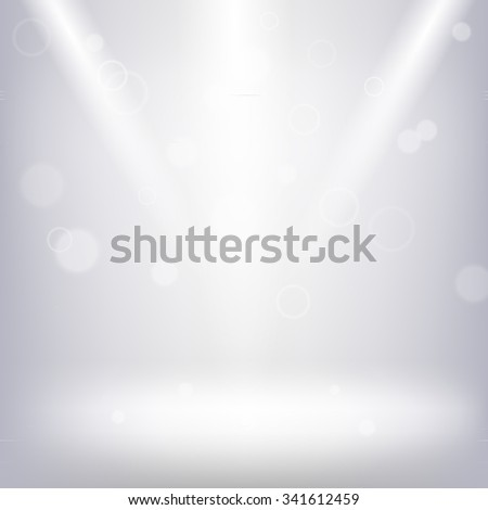 Soft vector interior background for design - stock vector